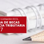 1° Llamado de Licitación ECCL - PROGRAMA DE BECAS FRANQUICIA TRIBUTARIA AÑO 2017