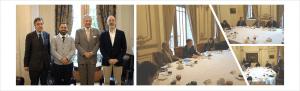 Firma de Convenido entre la OTIC Del Comercio y Fundación Chile.
