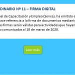 ORDINARIO Nº 11 - FIRMA DIGITAL