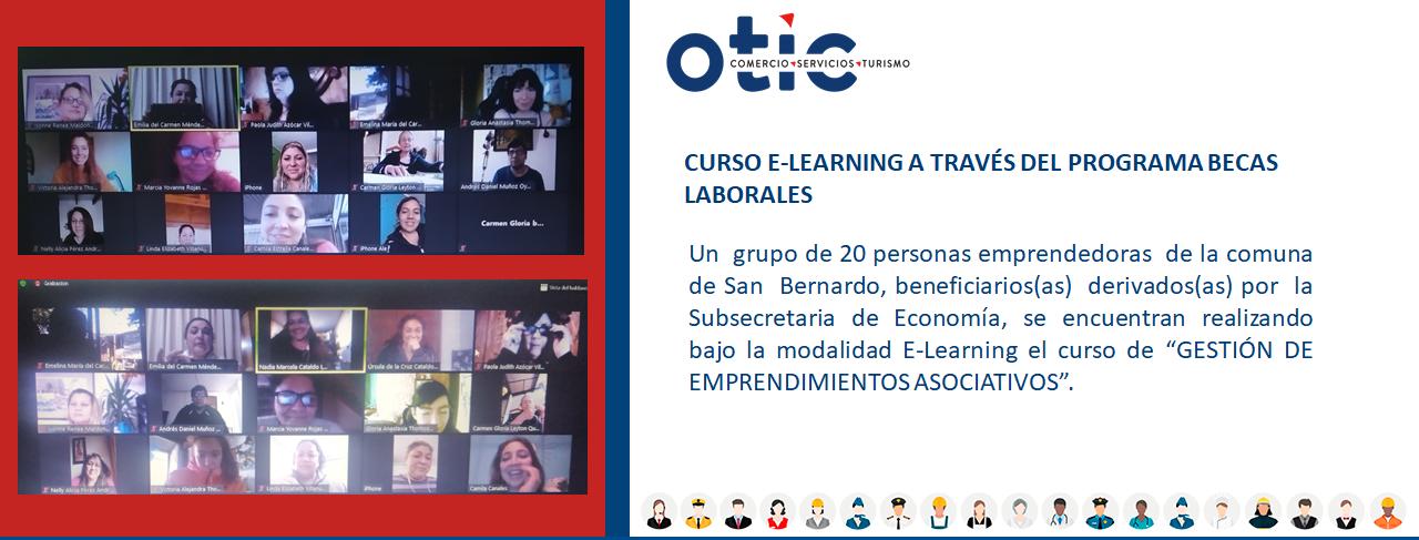 CURSO E-LEARNING A TRAVÉS DEL PROGRAMA BECAS LABORALES.