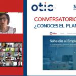 OTIC del Comercio y SENCE realizan conversatorio ¿Conoces el Plan de Subsidio al Empleo?