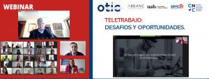 OTIC del Comercio realizó conversatorio sobre Autogestión en Teletrabajo.