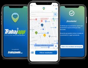 TrabajApp, la aplicación que permite encontrar empleo cerca de tu casa
